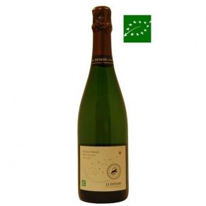 Crémant de Limoux Brut Nature « Bulles d'Argile » Sans Soufre - vin bio du Languedoc rousillon - vin sans sulfite - vin naturel