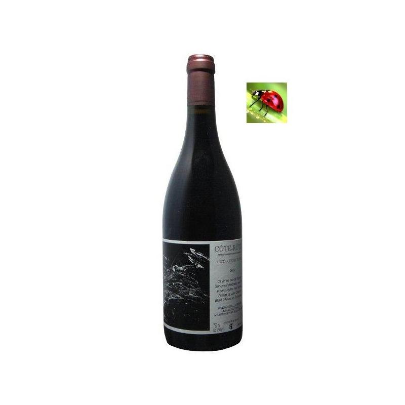 Côte-Rôtie « Coteaux de Tupin » 2015 - Grand vin bio Vallée du Rhône nord - sans sulfites - vin nature