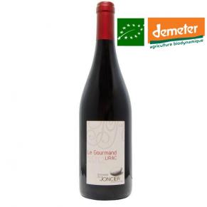 Lirac rouge « Le Gourmand » 2014 vin biodynamique Vallée du Rhône
