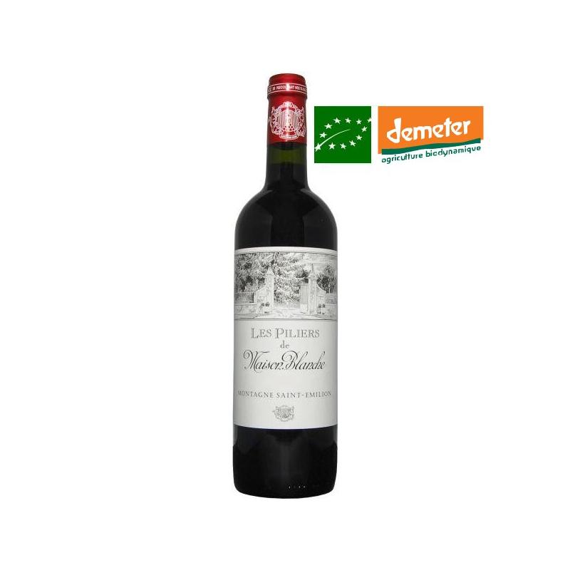 Montagne Saint-Emilion « Les Piliers » 2016 vin de bordeaux biodynamique bas sulfite