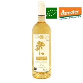 Côtes de Montravel (Moelleux) 2012 - vin biodynamie du sud-ouest - bas sulfite - vin naturel