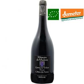 Côtes-du-Forez « Mémoire de Madone » 2017 vin biodynamie Loire - vin bas sulfite - vin bio naturel