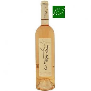 Côtes-de-Provence Rosé « La Tulipe Noire » 2017 rosé bio provence - bas sulfite - rosé naturel