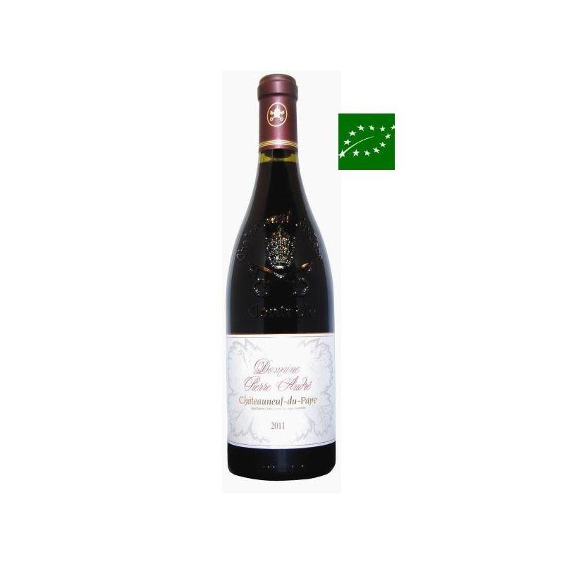 Châteauneuf-du-Pape rouge 2010 grand vin vallée du rhône sud biodynamie
