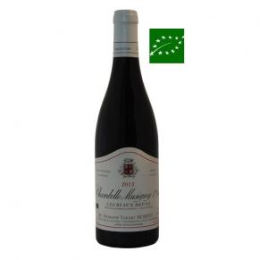 Chambolle Musigny Premier Cru « Les Beaux Bruns » 2014 - grand vin de bourgogne bio - vin bas sulfite