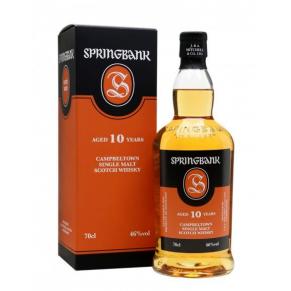 Whisky single malt « Springbank 10 Ans » 70 cl - Ecosse / Campbeltown
