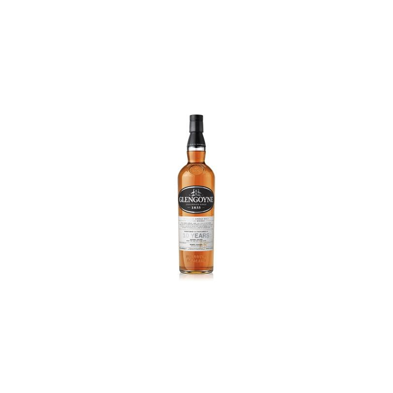 Whisky single malt « Glengoyne 10 Ans » 70 cl - Ecosse / Highland
