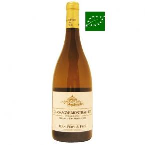 Chassagne Montrachet 1er Cru « Abbaye de Morgeot » 2013 grand vin de bourgogne bio - vin bas sulfite - vin blanc bio