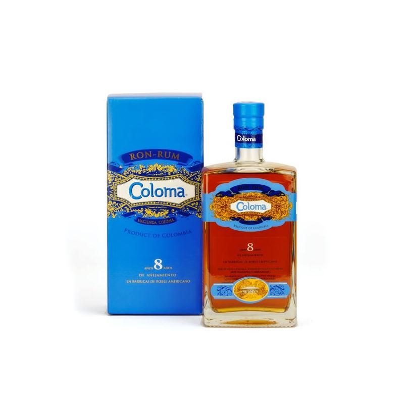 Rhum Coloma 8 Ans 70 cl - Colombie