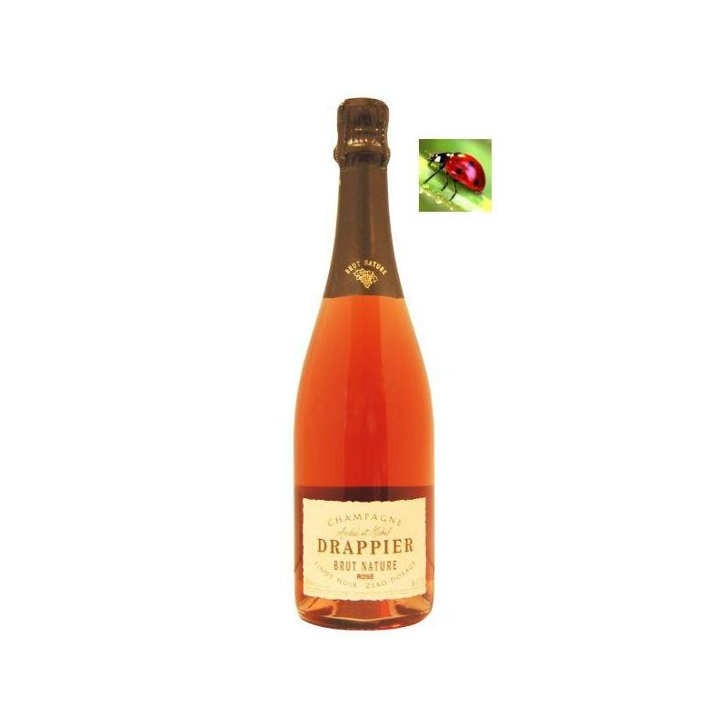 Champagne Brut Nature « Rosé » champagne rosé - bas sulfite