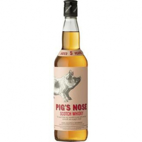 Whisky Blend 5 ans « Pig's Nose » 70 cl