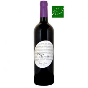 Vin de France Sans soufre ajouté « Parole d'Homme » 2016 vin bio Vallée du Rhône sud - sans sulfites - vin naturel