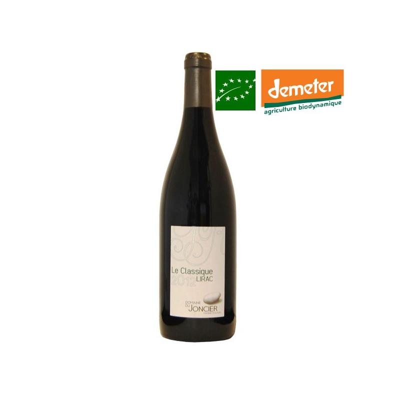 Lirac rouge « Le Classique » 2014 - vin biodynamie Vallée du Rhône sud - bas sulfites - vin naturel