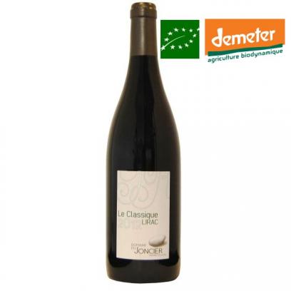 Lirac rouge « Le Classique » 2014 vin biodynamique Vallée du Rhône