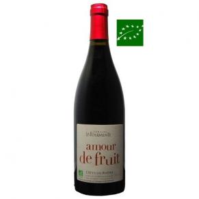 IGP Méditerranée Rouge Sans Sulfite « Amour de Fruit » 2017 vin biologique da la Vallée du Rhône sud