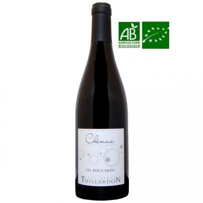 Chénas « Les Boccards » 2014 vin biologique du Beaujolais