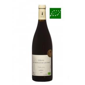 IGP Pays d'Oc Rouge « Nature-Merlot » 2015 - vin bio languedoc-roussillon - vin sans sulfite - vin naturel