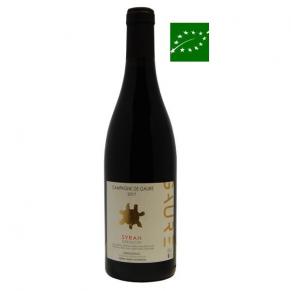 Languedoc Rouge « Campagne de Gaure » Syrah 2017 - vin bio du Languedoc rousillon - vin bas sulfite - vin naturel