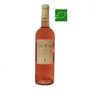 Côtes-de-Toul Rosé « Séduction » 2017 vin bio rosé Grand-Est