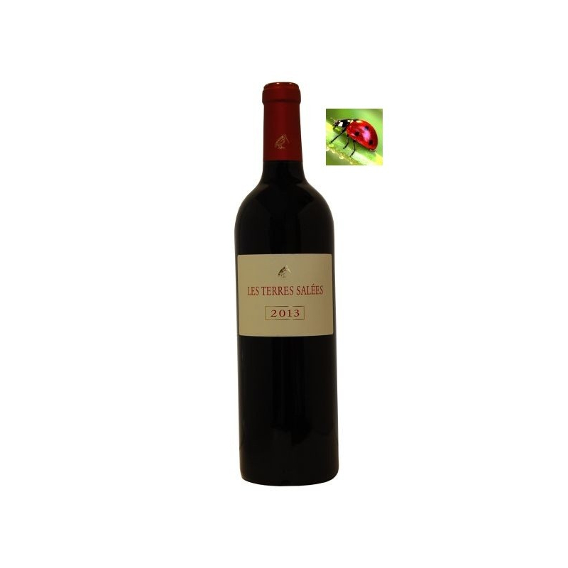 Coteaux de Narbonne Rouge « Les Terres Salées » 2015 vin du languedoc-roussillon - vin de l'aude