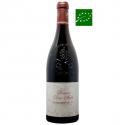 Châteauneuf-du-Pape rouge 2015 vin biodynamique Vallée du Rhône Sud