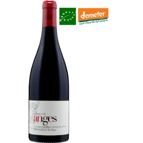 Châteauneuf-du-Pape rouge « La part des Anges » 2016 vin biodynamique - bas sulfite
