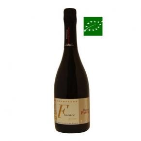 Champagne « Fluence » Brut Nature champagne biodynammie non dosé - bas sulfite