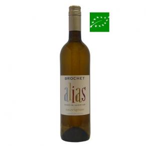 Vin de France « Alias - Sauvignon » 2017 vin bio de Loire - vin sans sulfite - vin naturel - vin vegan