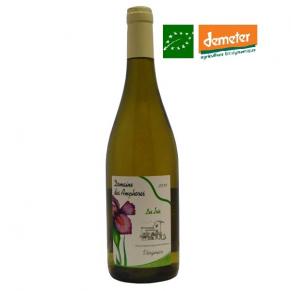 IGP Collines Rhodaniennes Viognier « Les Iris » 2017 - vin biodynamie Vallée du Rhône nord - bas sulfites - vin naturel