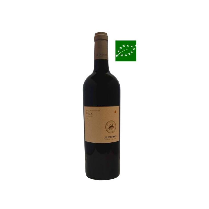 Limoux rouge « Chloé » 2015 - vin bio languedoc-roussillon - vin de l'aude - vin bas sulfite