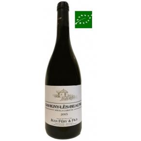 Savigny Rouge « Sous la Cabotte » 2015 vin de bourgogne bio - vin bas sulfite