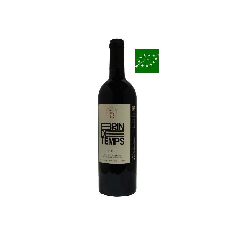 Gaillac rouge « Brin de Temps » 2016 vin bio sud ouest - cépage rare - bas sulfite