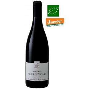 Mercurey rouge « Vieilles Vignes » 2016 Vin biodynamie Bourgogne - bas sulfite
