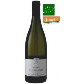 Mercurey Blanc « La Chagnée » 2016 Vin biodynamie Bourgogne - bas sulfite