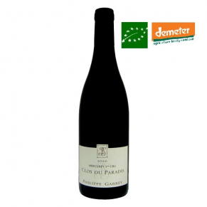Mercurey Premier Cru « Clos du Paradis » 2016 Vin biodynamie Bourgogne - bas sulfite