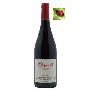Régnié 2017 vin naturel du beaujolais Cru Régnié bas sulfites