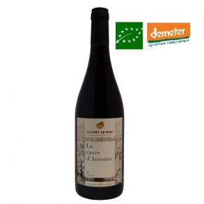 Beaujolais « La cuvée d'Antonin » 2017 vin beaujolais biodynamie bas sulfite