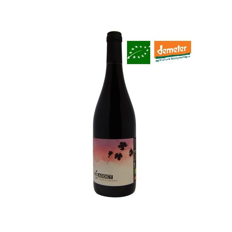 Beaujolais « Bio Addict » 2016 vin beaujolais biodynamie - vin bio sans sulfite