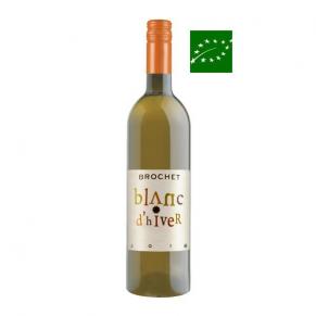 Vin de France « Blanc d'hiver » 2018 vin bio de Loire - vin bas sulfite - vin vegan