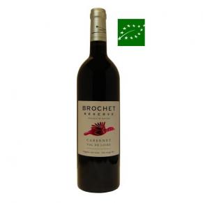 IGP Val de Loire « Cabernet Brochet Réserve » 2017 - vin bio de Loire - vin bas sulfite - vin vegan