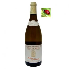 Chablis Premier Cru « Mont de Milieu » 2017 vin blanc bourgogne
