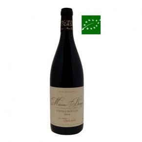 Mâcon-Burgy « Terres Rouges » 2016 vin bio bourgogne - vin bio mâconnais - vin bas sulfite