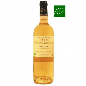 Graves blanc « Bichon-Cassignols » 2016 vin de bordeaux blanc biologique