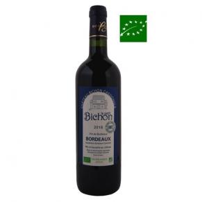 Bordeaux Rouge « Le Petit Bichon » Sans Soufre 2018 vin de Bordeaux bio