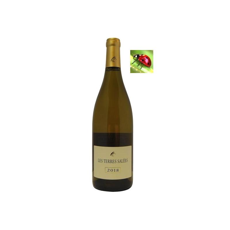 Coteaux de Narbonne « Les Terres Salées » blanc 2018 vin du languedoc-roussillon - vin de l'aude