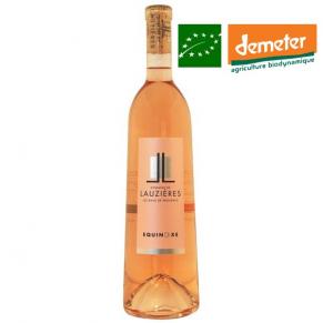 Baux-de-Provence Rosé « Equinoxe » rosé de provence biodynamie - rosé bas sulfite - rosé naturel