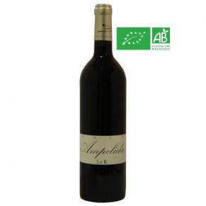 IGP Val de Loire « Le K » 2015 vin bio du Poitou vegan